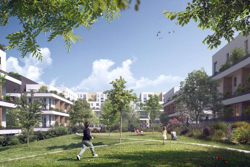 Immersion immobilier neuf courdimanche val d 39 oise 95 ile for Ville nature